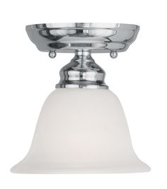 Livex Lighting Essex Polished Chrome Ceiling Mount 1350-05