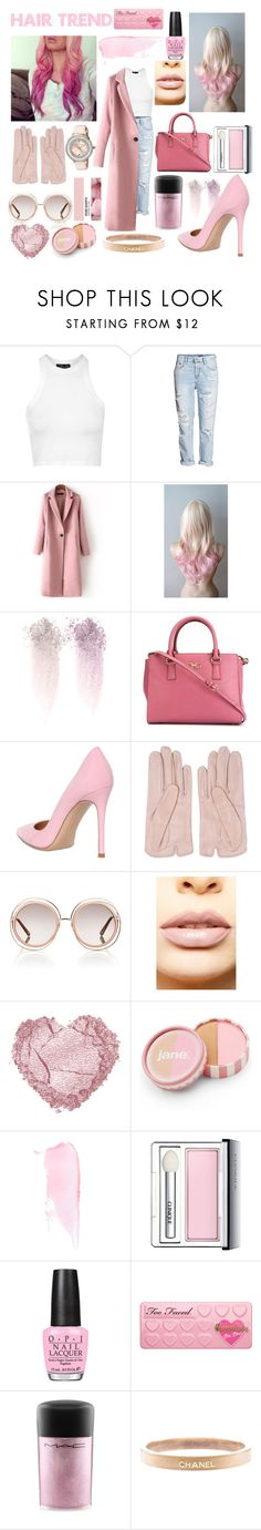 """""""Contest: Hair Trend- Ombré Hair"""" by fashionloveronlee ❤ liked on Polyvore featuring Topshop, H&M, NARS Cosmetics, Salvatore Ferragamo, Gianvito Rossi, Mario Portolano, Chloé, LASplash, jane and Clinique"""