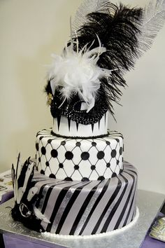 masquerade mask cake... Don't know when I would use this but I love it.