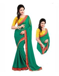 Young Women & Girls Move Towards Bollywood Replica Sarees for Fashion Georgette Sarees, Young Women, Bollywood, Sari, Indian, Stylish, How To Wear, Outfits, Beauty