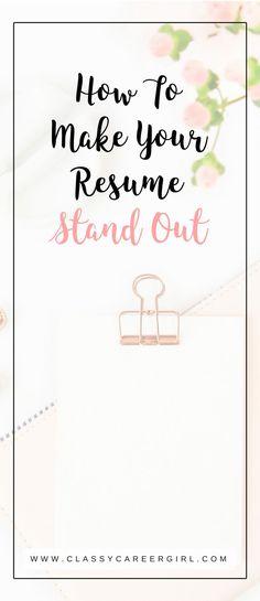 Chronological vs Functional Resume Career/Job Advice Pinterest