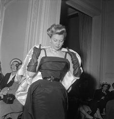 1950 Dior Fashion Show