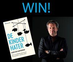 WIN! GOOISCH als lifestyle mag vijf keer het boek De Kinderhater van Guido den Aantrekker weggeven. Check facebook.com/gooisch en doe mee.
