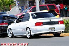 Toyota Tumblin' — radracerblog: TOP 10: Toyota Corolla Sedan (E100) Corolla 1994, Corolla Xrs, Toyota Corolla, Toyota Tercel, Toyota Cars, Corolla Tuning, Car Tattoos, Nissan Silvia, Jdm Cars