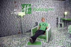 Holiday Inn Opens the 'Key Card Hotel'