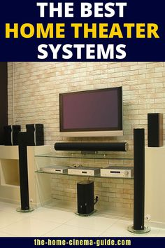 The Best Home Theater Systems For Your Room For many people, a home-theater-in-a-box system can be the easiest way to install surround sound in their movie room. If you don't understand where to start, my guide takes you from the beginning. Best Home Theater System, Home Theater Setup, Home Theater Speakers, Home Theater Rooms, Surround Sound Speakers, Best Speakers, Home Cinemas, Home Goods, Good Things