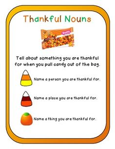 Thanksgiving Activities (Common Core Aligned) Using Autumn Brach's Mix and more!