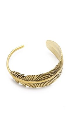 great feather bangle