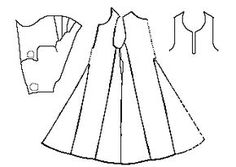 Some Clothing of the Middle Ages -- Kyrtles/Cotes/Tunics/Gowns -- Herjolfsnes 43This garment is assumed to have been a man's because it was found with ahood, the length of the overall outfit is not very long compared to the sleeve length, and the skirt is not very full compared to the body.