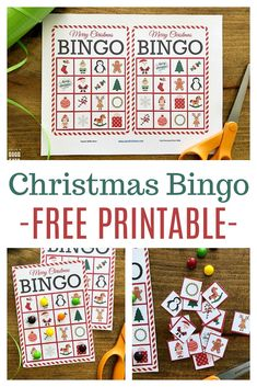 Christmas Bingo is one of our favorite holiday traditions- it's great fun for everyone from small children to older adults. These free bingo cards are perfect for a class party or to keep little ones busy while cooking! Christmas Eve Games, Christmas Party Games For Adults, School Christmas Party, Easy Christmas Crafts, Christmas Fun, Christmas Things, Christmas Bingo Printable, Christmas Bingo Cards, Printable Cards