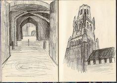 Brugges Architecture (Sketch)