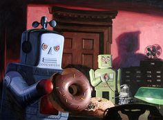 robots & donuts by eric joyner