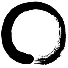 "Ensō (円相) is a Japanese word meaning ""circle"" and a concept strongly associated with Zen. Ensō is one of the most common subjects of Japanese calligraphy even though it is a symbol and not a character. It symbolizes the Absolute enlightenment, strength, elegance, the Universe, and the void; it can also symbolize the Japanese aesthetic itself. As an ""expression of the moment"" it is often considered a form of minimalist expressionist art."