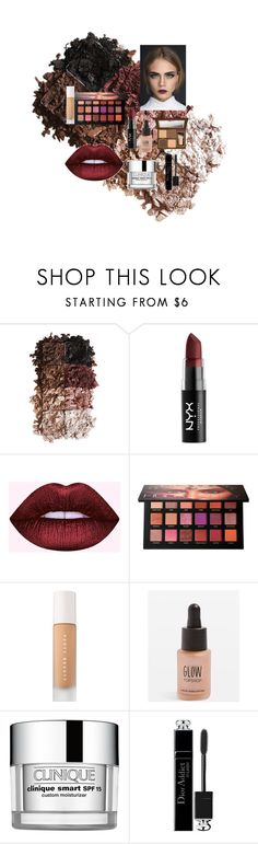 """Fall makeup"" by z3abiya-1 ❤ liked on Polyvore featuring beauty, LORAC, NYX, Huda Beauty, Puma, Topshop, Clinique, Christian Dior and Too Faced Cosmetics"