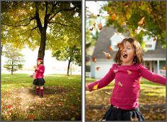 Fall children portraiture by Portrait Shoppe