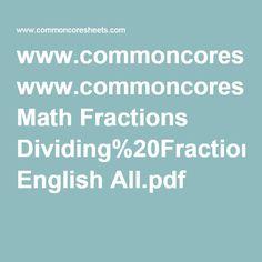 Worksheet Homeschoolmath.net Worksheets www homeschoolmath net worksheets fractions pdfs commoncoresheets com math english all pdf