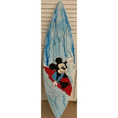 My eBay Active Disney Kids Rooms, Surfboard Decor, Mickey Mouse Cartoon, Disney Cartoons, My Ebay, Surfing, Wall Decor, Sign, Wood