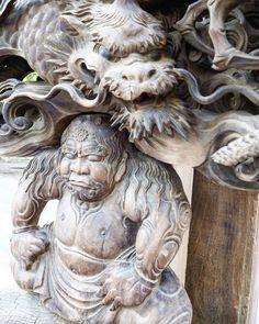 ふと立ち寄った神社に凄い彫刻がありましたやっぱり日本の彫刻は世界一だと思います #神社#彫刻##凄い#素晴らしい#art#芸術#竜#dragon Design Thinking, Buddha, Lion Sculpture, Dragon Design, Statue, Creative, Instagram Posts, Japanese, Culture