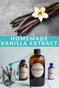 Making your own Vanilla Extract Recipe is so simple and makes the best handmade gift. This is the best vanilla extract you'll ever try! Bourbon, Instant Pot, Vodka, Celery Smoothie, Vanilla Extract Recipe, Pots, Instant Recipes, Recipe From Scratch, Indian Snacks