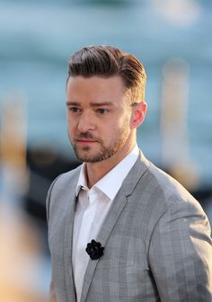 32 Times Justin Timberlake Was A Beautiful Human Man nom Justin Timberlake, Short Hair Cuts, Short Hair Styles, Look 2015, Asymmetrical Hairstyles, Crew Cuts, Men's Grooming, Haircuts For Men, Short Hairstyles
