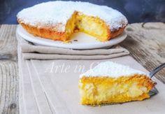 Torta sfogliatella frolla napoletana, ricetta facile, dolce da merenda o dopo cena, dolce per le feste, feste natalizie, ricetta con pasta frolla, torta farcita