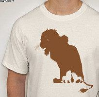 The Lion King: Scar Silhouette T-Shirt by DJsDecals on Etsy Colorful Shirts, Lion, Decals, Silhouette, T Shirts For Women, Mens Tops, Etsy, Tags, Leo