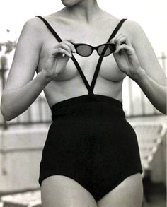 1960's topless swimsuit by Rudy Gernrich photo Kenn Duncan