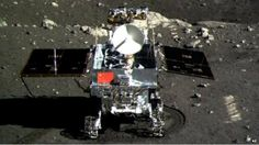 Jade Rabbit, China's moon rover, captures remarkable images.