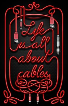 Life Is All About Cables by Sergi Madonar