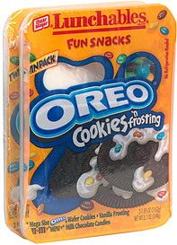 Lunchables Cookies | Lunchables Oreo Cookies 'n Frosting