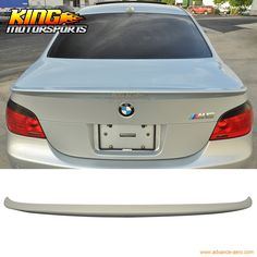 66.95$  Watch here - http://alixml.shopchina.info/go.php?t=32655401123 - For 04-10 BMW 5 Series E60 M5 4Dr 4Door Unpainted ABS AC Style Rear Trunk Spoiler  #shopstyle