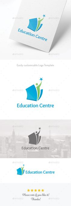 Buy Education / Training / Learning by yellowkyte on GraphicRiver. Education / Training / Learning – Logo template FEATURES Resizable VECTOR logo Easily change colour, size and text CM. Vector Logo Design, Logo Design Template, Logo Templates, Education Logo Design, Education City, Education Humor, Physical Education, Library Logo, Learning Logo