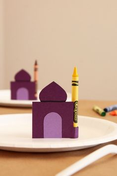 Ramadan Kids' Table Crayons | 13 Super Fun Ways You Can Celebrate Ramadan With Your Kids