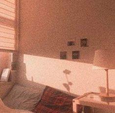 room sunlight dark aesthetic orange brown