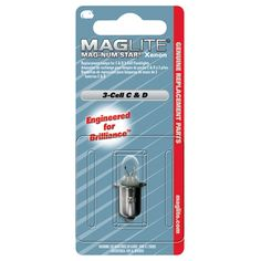 3 Cell Mag-Num Star Xenon C or D Replacement Lamps 1/Pk. $3.60