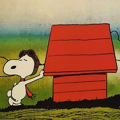 Our newest exhibition Snoopy and the Red Baron debuts tomorrow celebrating the 50th Anniversary of Snoopy as the WWI Flying Ace and the opening of The Peanuts Movie. The exhibition runs through April 24th and the movie opens in the USA November  6th. #schulzmuseum #flyingace