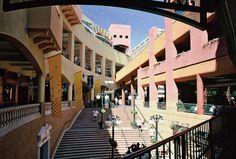 san diego pictures - horton plaza stairway