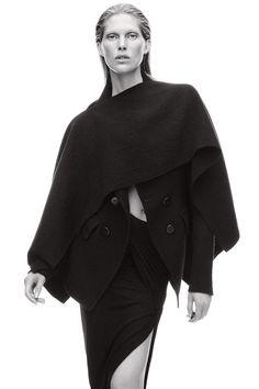 Fall Coats & Jackets. Jacket and skirt, Donna Karan New York.