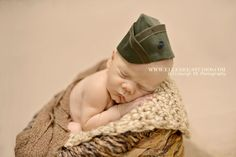 Infant Marine Garrison Cap Marine Flight Cap by KaseyCreations