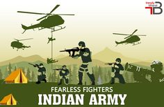 Our country is day and night protected by these bravehearts at the risk bearing borders, putting their lives at stake for our own national security. Kudos to them for rising up to the occasion, whenever the country needs them.#Trendybharat felicitates the Fearless Indian Army. Jai Hind!
