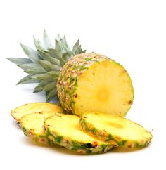 pineapple to induce labor.....interesting.....