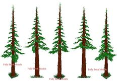 how to make lego trees   CLICK HERE TO VIEW OUR LEGO CUSTOM EWOK TREE version 4 - LARGE PICTURE