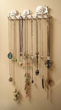 Jewelry Post - Necklaces by ce.lutin, via Flickr