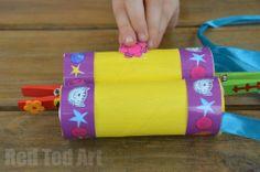 TP Roll Crafts for kids - binoculars