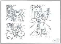 Prodigal son Coloring Pages - Prodigal son Coloring Pages , Parable Of the Prodigal son Coloring Pages Camping Coloring Pages, Peppa Pig Coloring Pages, Sunday School Coloring Pages, Skull Coloring Pages, Farm Animal Coloring Pages, Preschool Coloring Pages, Coloring Pages For Kids, Coloring Books, Children's Church Crafts