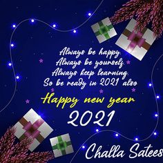 2021 Happy New Year Motivational Quote Images