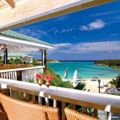 Antigua - A couple chairs just waiting for you to grab them, have a drink and enjoy the view  from this awesome advantage point.   ASPEN CREEK TRAVEL- karen@aspencreektravel.com