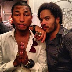 Pharell Williams and the great seductor Lenny Kravitz ♥️♥️💎 Lenny Kravitz, Love Rules, Pharrell Williams, Music Icon, Yesterday And Today, Celebs, Celebrities, Music Artists, My Idol