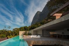 janeiro,rio,villa,casa,presenta,interni,puliti,quadrato,architettura