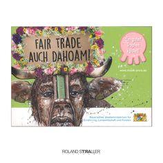 """Wenn Sklaven für ihre """"armen Ausbeuter"""" Werbung machen müssen… Hintergrund auf » http://vegan-art.com/content/91-werbesklaven-human-animals-studies-by-roland-straller"""